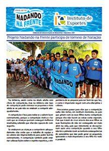 Nadando na Frente - Informativo 2017 - MAIO